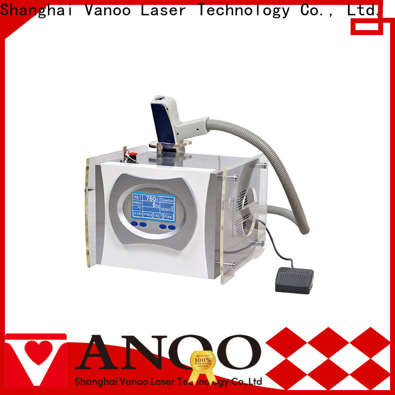 Vanoo top quality picosure tattoo removal manufacturer for beauty parlor